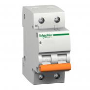 Автоматический  выключатель Schneider Electric ВА 63 1п+ноль  10А 11212