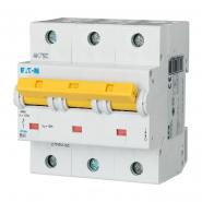 Автоматический выключатель   PLHT C 3р 63A EATON
