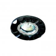 Светильник точечный MR-16 G5.3 50W черный/хром