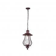 Светильник уличный подвесной 1*Е27 коричневый60W 1480*240мм