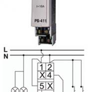 Реле импульсное Электросвит РБ-411 (BIS-411)
