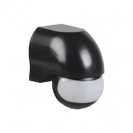 Датчик движения IEK ДД 010 черный 1100 Вт радиус 180град.,10м IP44 арт. LDD10-010-1100-002 - 1