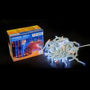 Гирлянда внеш_DELUX_ICICLE_108LED (81Led+27Led Flash) 2x1m жолт flash бел/бел IP44 EN