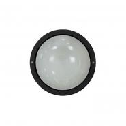 Светильник НПП 2602 60W чёрный-круг  IP54