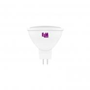 Лампа  LED MR16  5W  GU5.3 4000 120гр. ELM