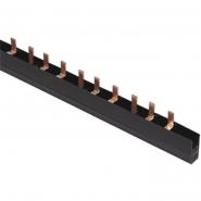 Шина соединительная PIN 4Р 100А  крок 27мм длина 1м ИЭК