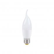 Лампа светодиодная LB-737 CF37  230V 6W 520Lm  E27 4000K cвеча на ветру Feron