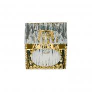 Светильник точечный Feron JD181 G9 35W прозрачный золото