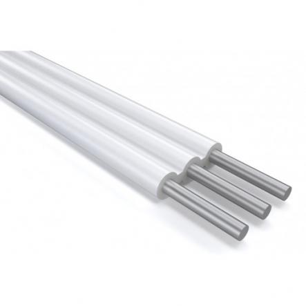 Провод установочный с алюминиевой жилой плоский АППВ 3х2,5 - 1