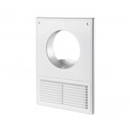 Решетка вентиляционная МВ 100 Кс абс ш182*в252мм