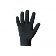 Перчатки б/точки черные дв. 7кл (540)