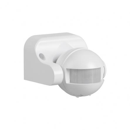 Датчик движения IEK ДД 009 белый 1100 Вт радиус 180град.,12м IP44 арт. LDD10-009-1100-001 - 1