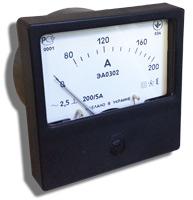 Амперметр ЭА 0302/1 150/5 (120х120) Украина - 1