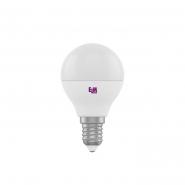 Лампа LED сфера 5W PA10 E14 3000 D45 ELM 0172-18