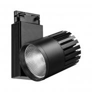 Светильник трековый AL105 COB 40W 3600LM 4000K IP40 черный 215*95*220 мм
