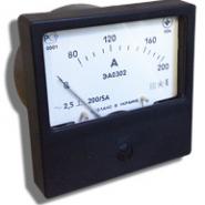 Амперметр ЭА 0302  0-20А  (80х80) Украина