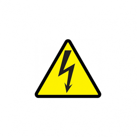 Символ молния (треугольник) 85х85х85мм ИЭК - 1