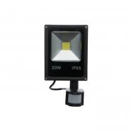 Прожектор LED 20W 220V 6500К iP65 с датчиком движенияNEOMAX