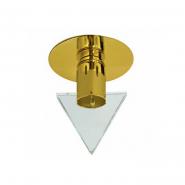 Светильник точечный золото