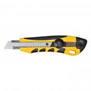 Нож с крутящимся фиксатором упрочненный универсальный 18мм