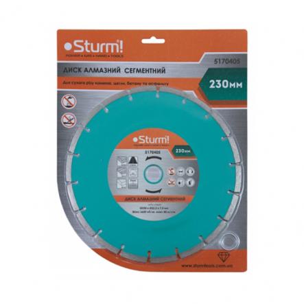 Диск алмазный сегментный 230*22мм Sturm 5170405 - 1