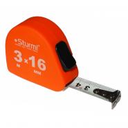 Рулетка Sturm 3м x 16мм Soft Touch