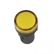 Светосигнальный индикатор IEK AD16DS (LED) матрица d16мм желтый 12В AC/DC