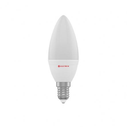 Лампа свеча LED 8W Е14 3000 PA LС-12 ELECTRUM - 1