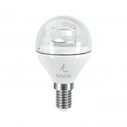 Лампа LED G45 6W 3000K 220V E14 AP Maxus