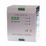 Импульсный промышленный блок питания Электросвит ZI-240-24 F&F