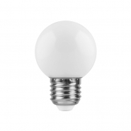Лампа LB-37 G45 1W 230V 6400K E27 Feron