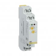 Реле тока IEK  ORI. 0,1-1 А. 24-240 В AC / 24 В DC  ORI-01-1