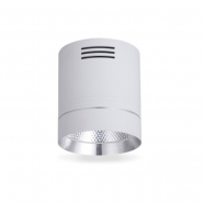 Светильник AL542 COB 18W белый+серебро 1530Lm 4000K IP20 100*100*115mm