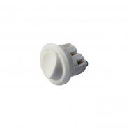 Кнопка для светильников диам.10 белая