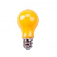 Лампа 8W A60 E27 2200K LED 170-265V4м от комаров