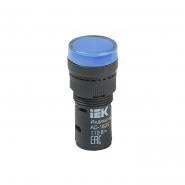 Светосигнальный индикатор IEK AD16DS (LED) матрица d16мм синий 12В AC/DC