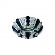 Светильник точечный MR-16 CD2121 прозрачный-серый, хром 50W