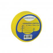 Изолента 0,13мм*19мм 10м жёлтая АСКО
