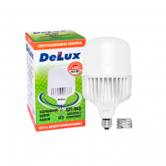 Лампа LED BL 80 50w E27 6500K R адаптер DELUX