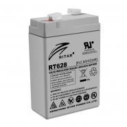 Аккумуляторная батарея AGM RITAR RT628.Gray Case.6V 2.8Ah (66x34x97(1030) Q10