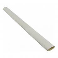 Трубка термоусадочная д.12.7 белая с клеевым шаром АСКО