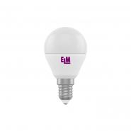 Лампа LED сфера  6W PA10L E14 3000 D45 ELM