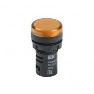 Светосигнальный индикатор IEK AD22DS (LED) матрица d22мм желтый 24В AC/DC