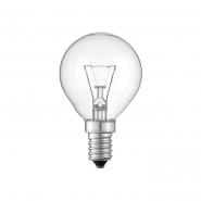 Лампа шар TESLA 40Вт 230В E14 прозрачная