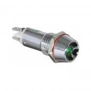 Сигнальная арматура АСКО-УКРЕМ AD22C-8 24В AC/DC LED Зелёный