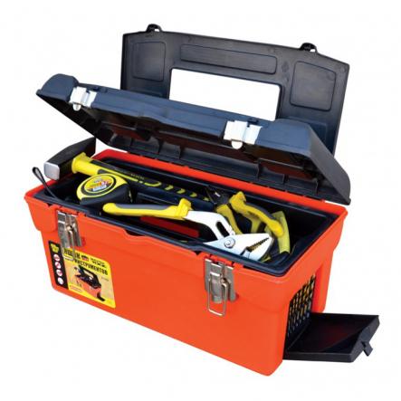"Ящик для инструмента с металлическими замками 16"" - 1"
