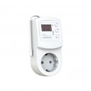 Терморегулятор TERNEO  terneо rzx (РОЗЕТКА)0...+30°С   16А(для обогревателей) Wi-Fi