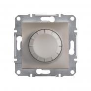 Светорегулятор поворотный бронза ASFORA, Schneider Electric