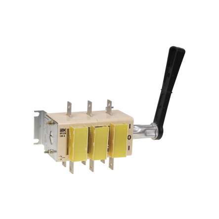 Выключатель-разъеденитель врубной ВР32И 400А съемная рукоятка ИЕК - 1