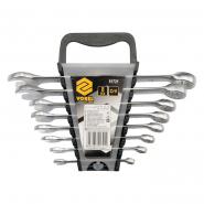 Ключ для гаек рожк.-накидной Cr-V, М 6-19мм 8 шт.